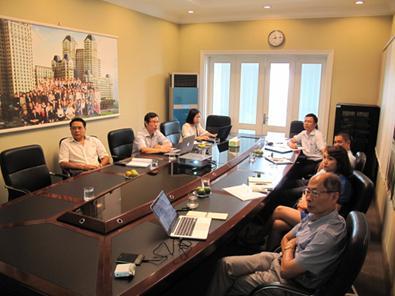 Phiên họp Hội đồng quản trị tổng kết 6 tháng đầu năm 2015
