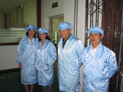 Thăm nhà máy của LEYARD tại Thâm Quyến