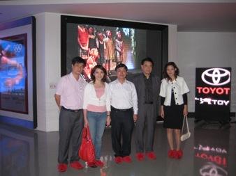 Đoàn đại biểu AIC group đi thăm và làm việc tại Trung Quốc