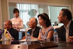 Cựu Thủ Tướng Nhật Murayama Tomiichi đến thăm Tập đoàn AIC và AKB software