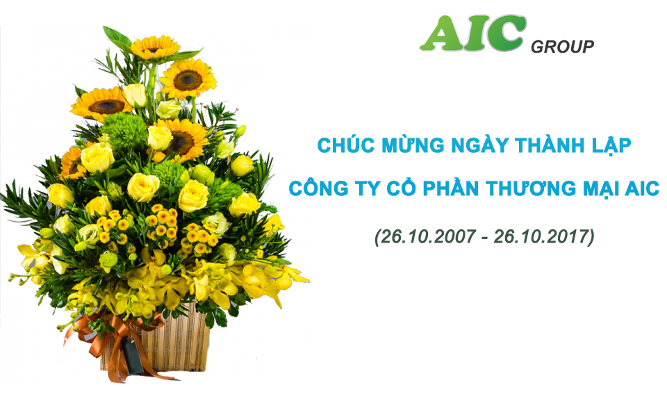 Chuc mung 10 nam thanh lap AICCP