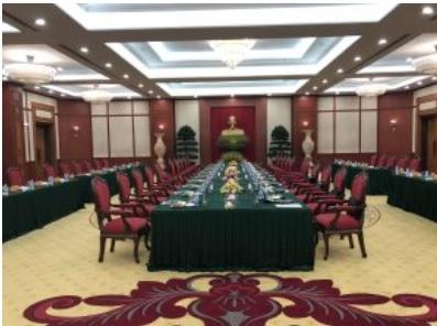 AIC Trading.,JSC cung cấp thiết bị phiên dịch đa ngôn ngữ Bosch tại Hội nghị Việt – Lào 2019