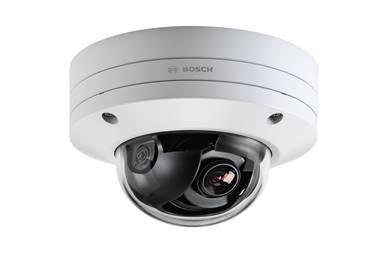 Camera bán cầu cố định FLEXIDOME IP starlight 8000i mới của Bosch mang lại tiện ích vượt trội cho các chuyên gia lắp đặt và người dùng